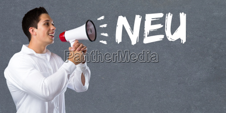neu neuheit hinweis info information werbung