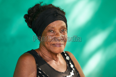 real people portrait happy elderly african