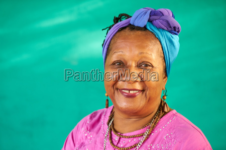real people portrait old black woman