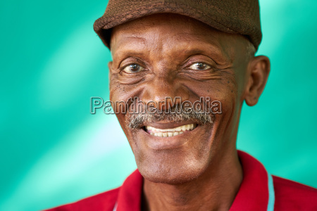 seniors people portrait happy old black