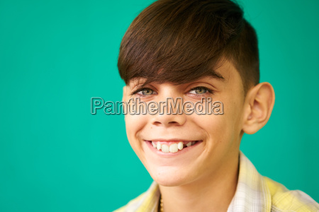 children portrait latino boy smiling happy