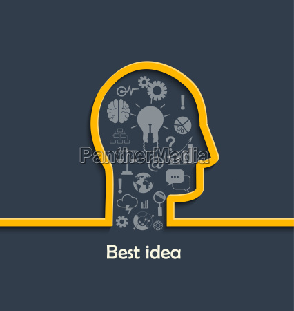 concept of big and best ideas