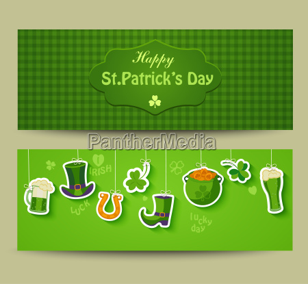 greeting card for happy st patricks