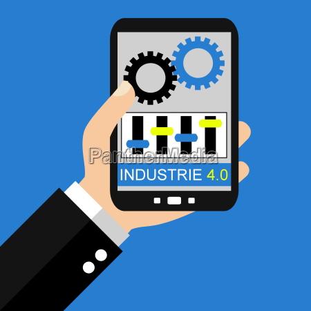 industrie 40 mit dem smartphone