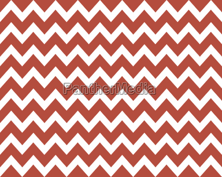 wave pattern jagged red white
