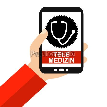 telemedizin auf dem smartphone