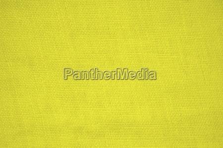 leinenstoff hintergrund gelb