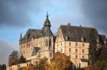 the landgrafenschloss in marburg