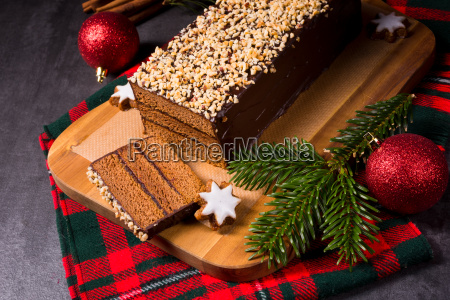 filled gingerbread