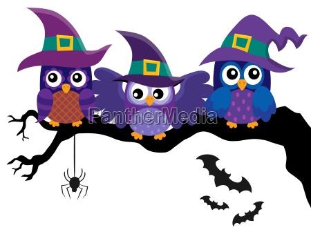owl witches theme image 2