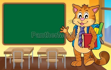 school cat theme image 4