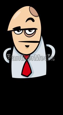 boss cartoon illustration
