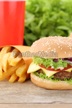 cheeseburger hamburger menu menue menu fast