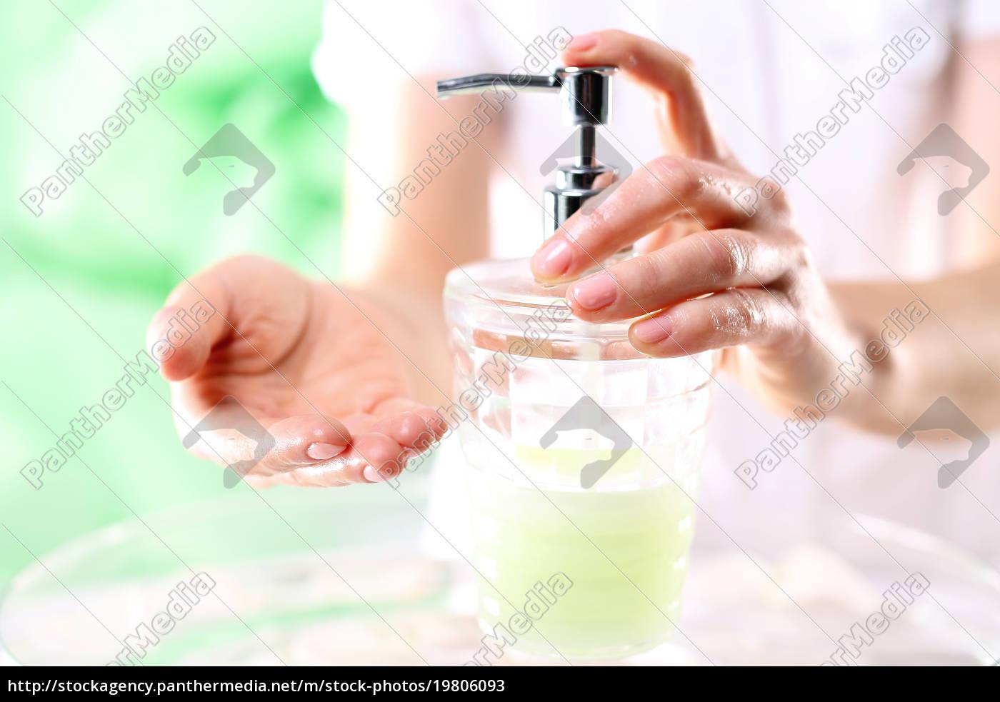 schöne, gepflegte, hände, skincare, tägliche, hygiene - 19806093