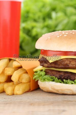 double cheeseburger hamburger menu menu menu