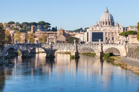 rom und vatikanstadt stadtbild