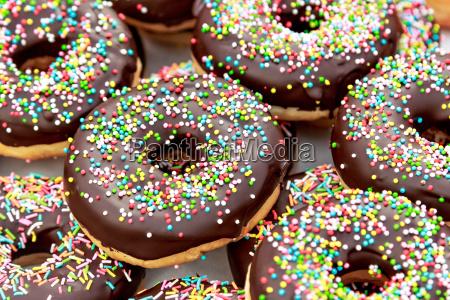 schokoladen donuts