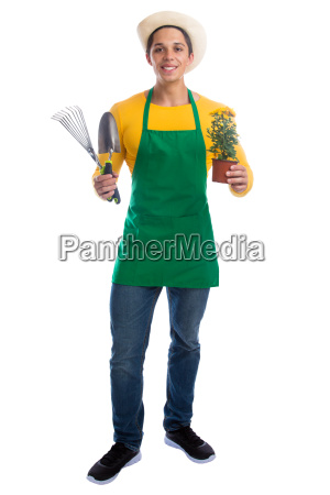 gardener gardening gardening profession full body