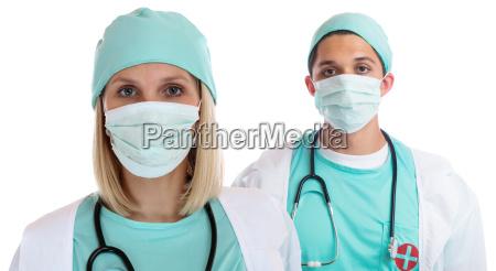 junge AErzte team AErztin arzt doktor
