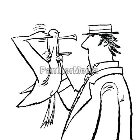 gentleman und seagull humor