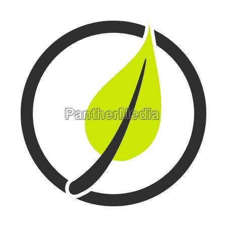 symbol fuer OEkilogie nachhaltigkeit und natur