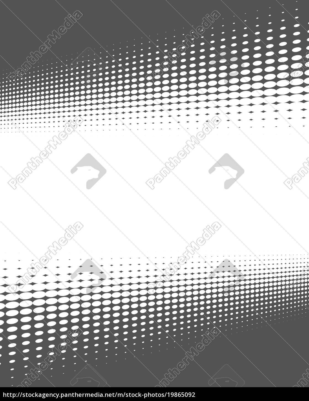 Rahmen aus verzerrten grauen Punkten - Lizenzfreies Foto - #19865092 ...
