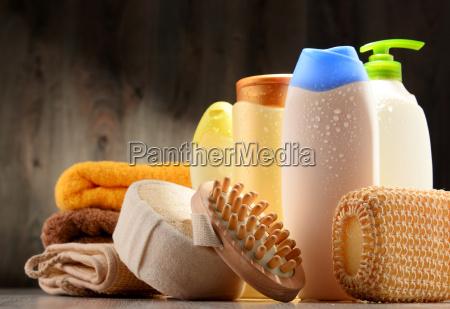 plastikflaschen koerperpflege und schoenheitsprodukte