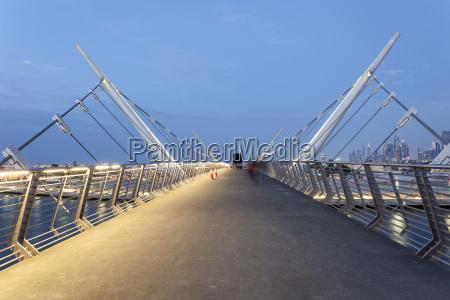 dubai water canal bridge