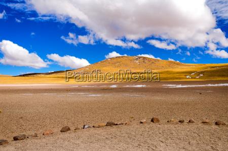 chilean landscape view