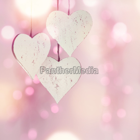 love heart in front of a