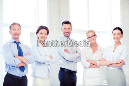 freundliche business team im amt