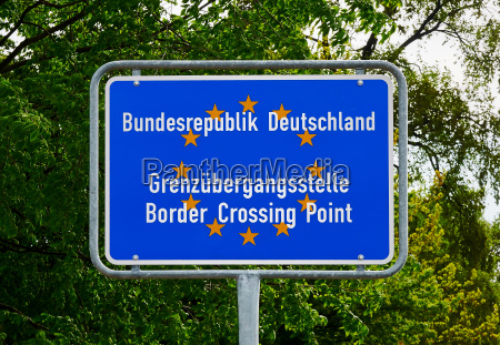 border crossing point to germany eu