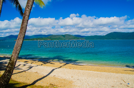 strand auf daydream island australien