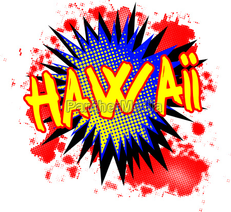 hawaii comic exclamation