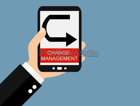 change management mit dem smartphone