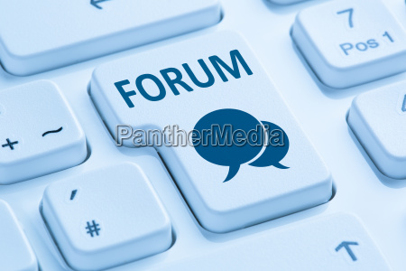 forum communication community internet blog media