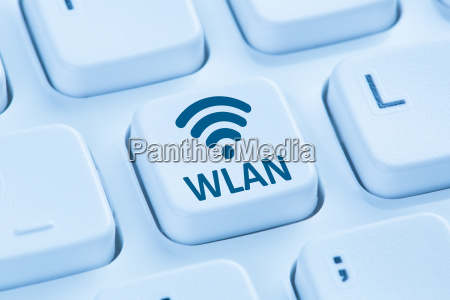 wlan or wifi hotspot connection internet
