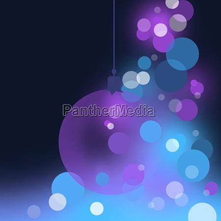 blauer abstrakte weihnachtshintergrund