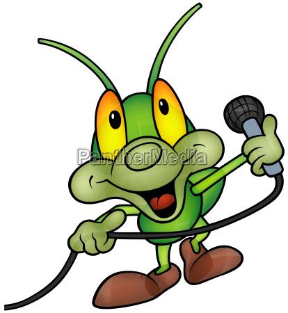 happy green bug dj