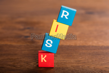 risk word on falling cubes