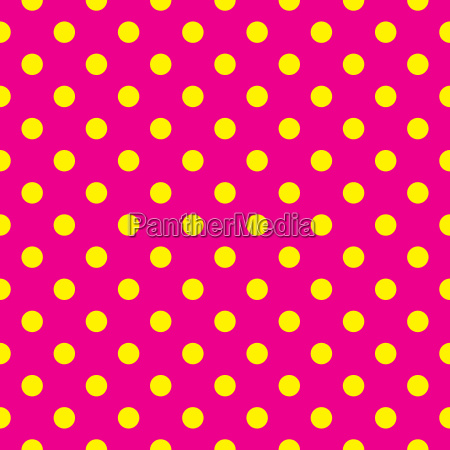 seamless vector pattern with pink polka