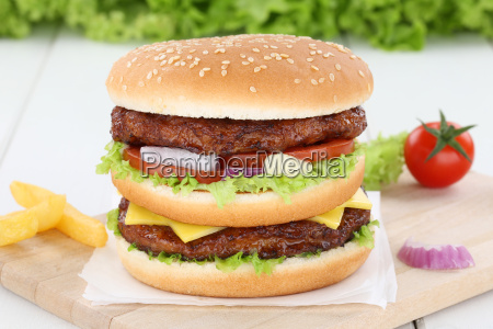 doubleburger double burger hamburger onion meat