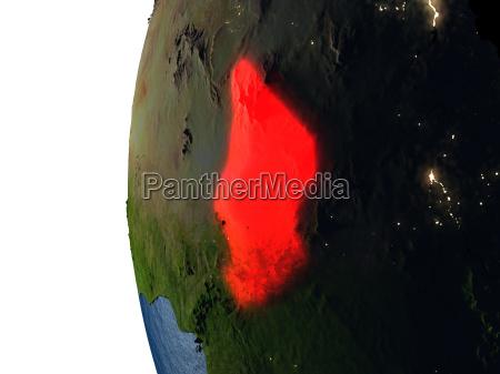 planet globus erde
