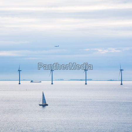 blau umwelt horizont industriell wolke sonnenaufgang