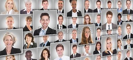 portraets von geschaeftsleuten