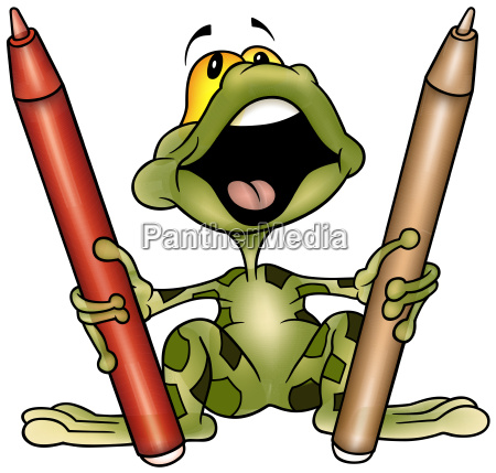 frog painter