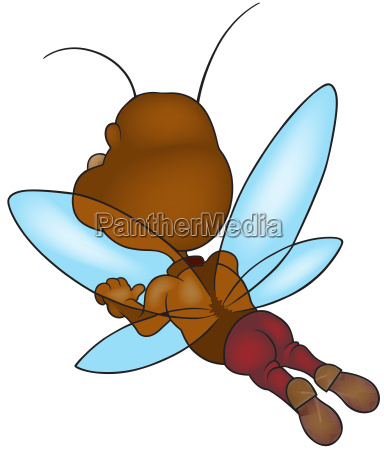 flying brown bug