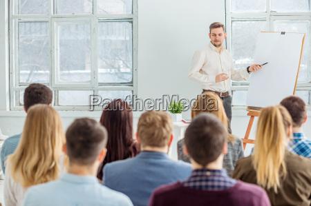 lautsprecher auf business meeting im konferenzsaal