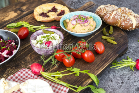 frische ausbreiten kaese ausgebreitet delikatesse bayrisch