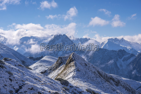 germany bavaria allgaeu allgaeu alps with